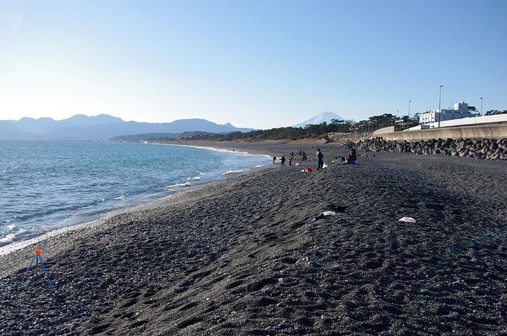 大磯西海岸(こゆるぎ浜)