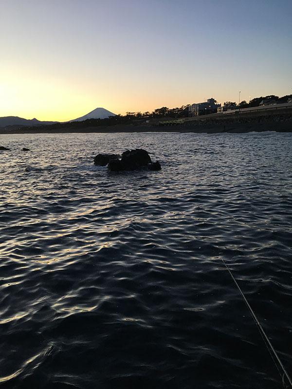 照ヶ崎から見た富士山
