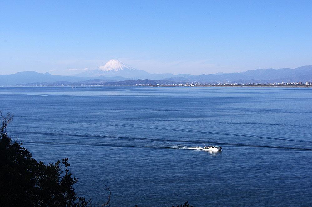 江ノ島 富士山