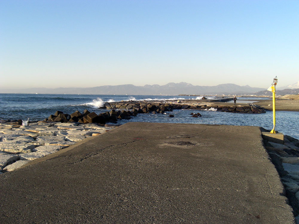茅ヶ崎 柳島海岸