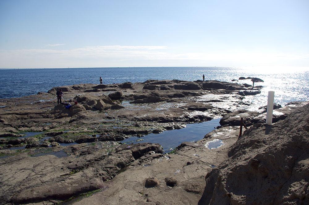 江ノ島 表磯 水道口