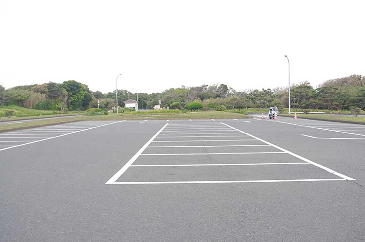 城ヶ島公園第一駐車場