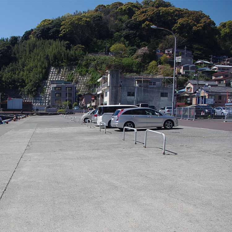 真鶴港の無料駐車場
