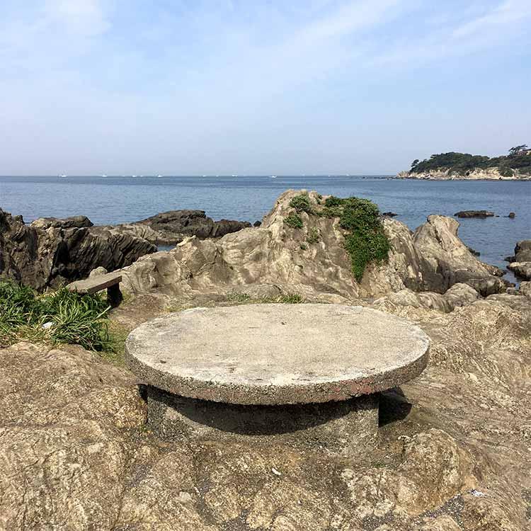 佃嵐崎 テーブル?