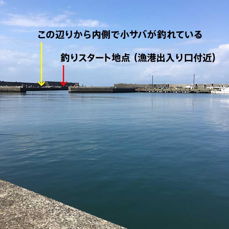 平塚漁港内側