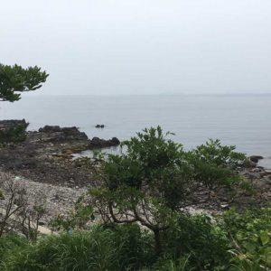 真鶴半島番場浦の海岸