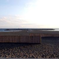 茅ヶ崎海岸 Tバー(ヘッドランド)